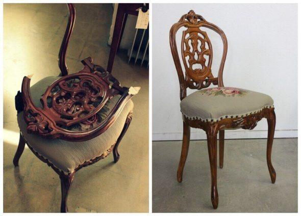 Реставрация стульев в домашних условиях