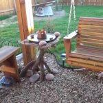 Садовая практичная мебель своими руками