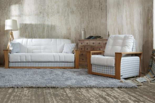 Стандартная конструкция дивана