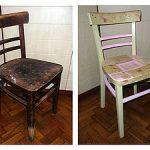 Старый дряхлый стул