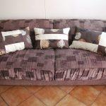 Текстильные подушки для дивана