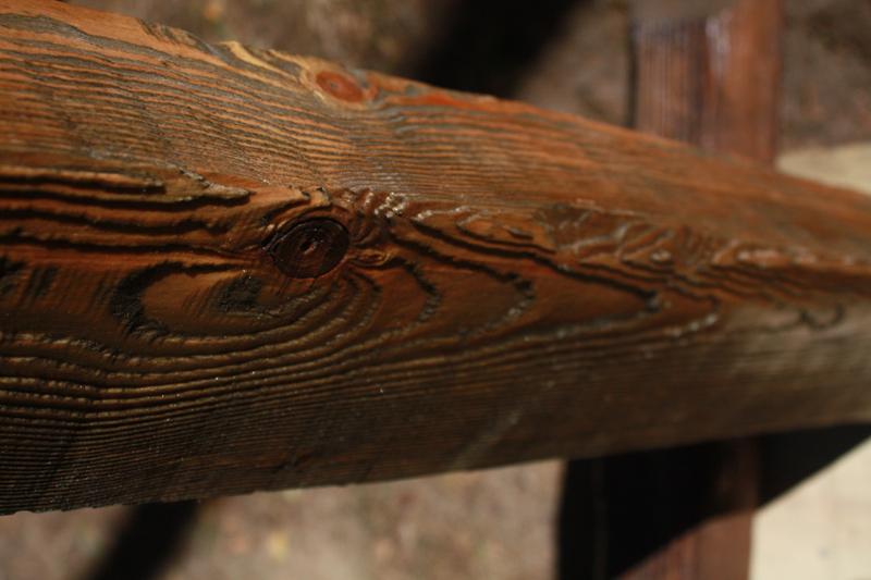 брашированное дерево
