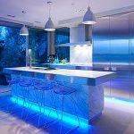 Декоративная светодиодная подсветка кухни