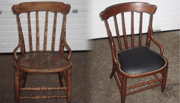 дешевый стул превращается в антиквариан