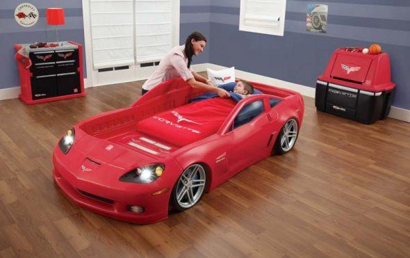 Детская комната для будущего гонщика