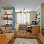 Детская комната, совмещенная с гостиной