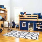 """Детская кровать-чердак с игровой зоной """"Дом"""""""