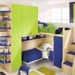 Детская мебель для двух детей в маленькую комнату