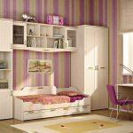 """Детская мебель """"Соната"""" в интерьере комнаты для девочки подростка"""