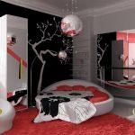 Дизайн комнаты с японскими нотами