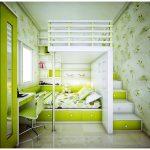 Двухъярусная многофункциональная мебель для малогабаритной квартиры