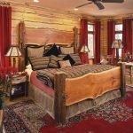 Экологичная деревянная спальня