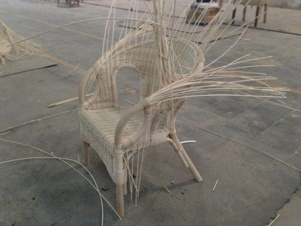 фото ротанговая мебель плетение