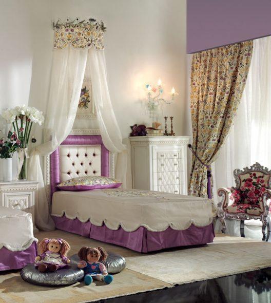 Гламурная кровать для принцессы