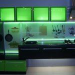 Интересный вариант светодиодной подсветки для кухни своими руками