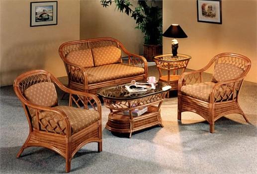 изготовить плетеную мебель