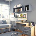 Комната с Нейтральным интерьером для мальчика