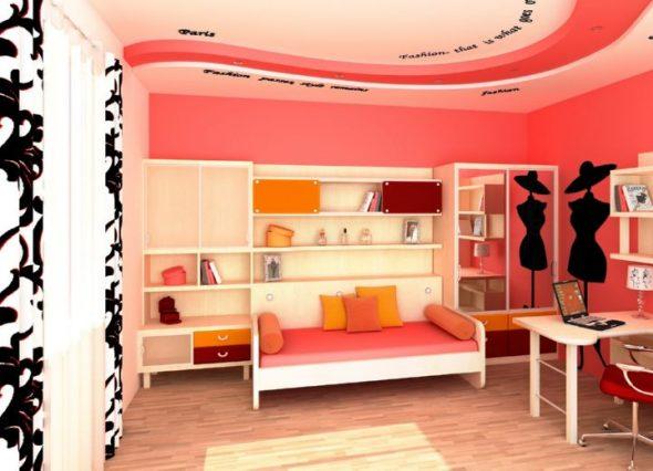 Комната с встроенной кроватью