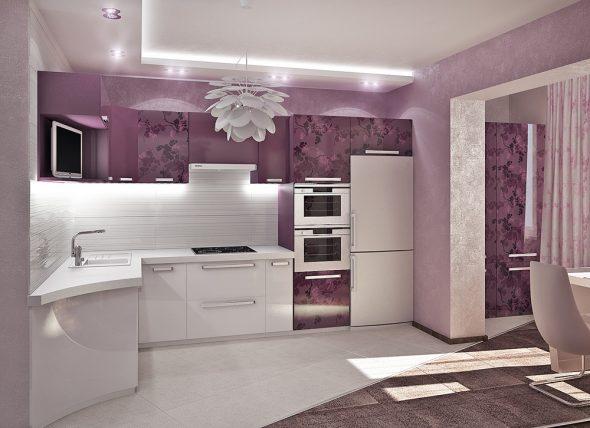 Креативная кухня в стиле модерн