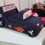 Кресло-кровать для мальчика в виде машинки