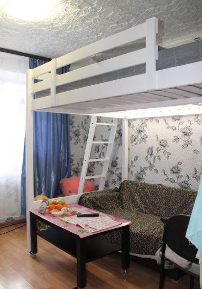 Кровать-чердак Стуро в интерьере
