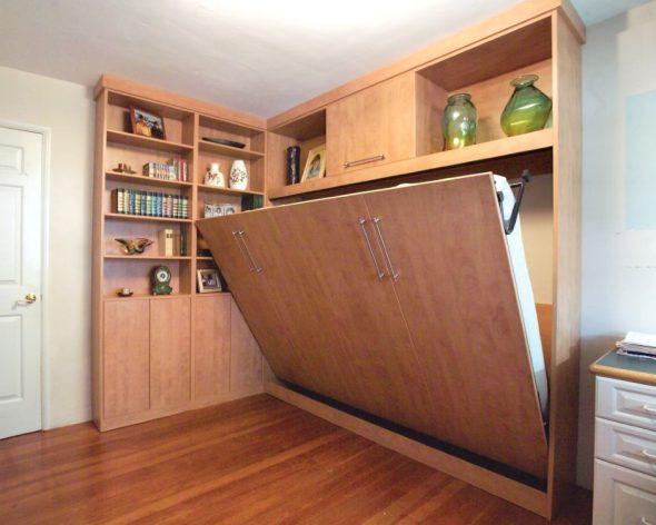 Кровать-трансформер для однокомнатной квартиры