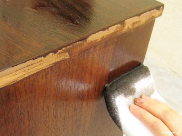 Лакирование мебели