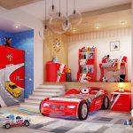 Любимая комната будущего гонщика