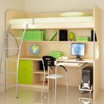 Мебель в комнату мальчика-школьника