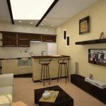 Мебель для совмещенной кухни-гостиной