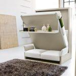 Необычная кровать-диван для гостиной