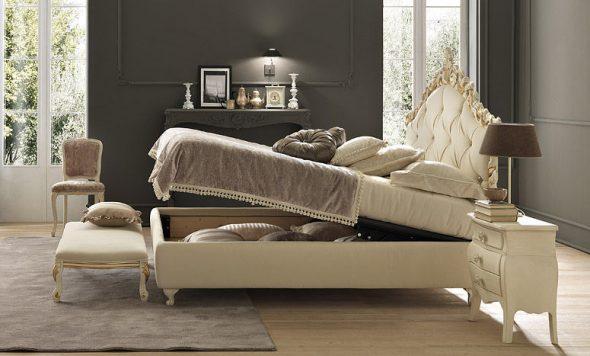 Необычная кровать в винтажном стиле