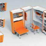 Необычная мебель-трансформер для маленькой квартиры