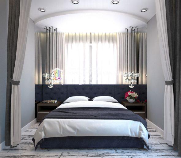 neobychnoe-rasНеобычное расположение кровати в нише