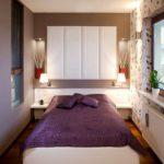 Нежная и романтичная маленькая спальня