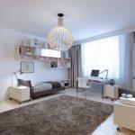 Оформление подростковой спальни в современном стиле