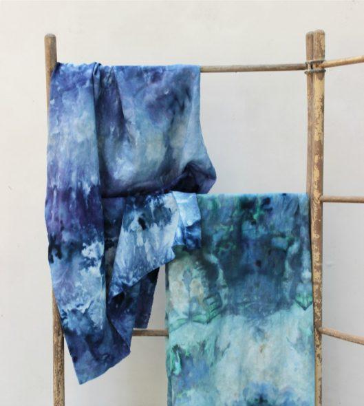 Окрашенная ткань для подушек