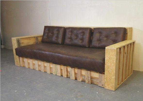 Оригинальный диван своими руками