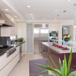 Освещение для светлой и уютной кухни