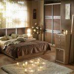 Планировка романтичной спальни