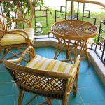 плетеня мебель для балкона и лоджии