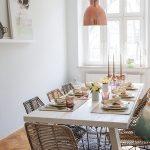 плетенная мебель из искусственного ротанга в дизайне дома