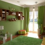 Полки для книг и декора в гостиной
