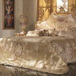 роскошная металлическая кровать