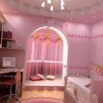 Розовая спальня для настоящей принцессы