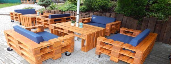 сделать мебель для сада из дерева-материалы