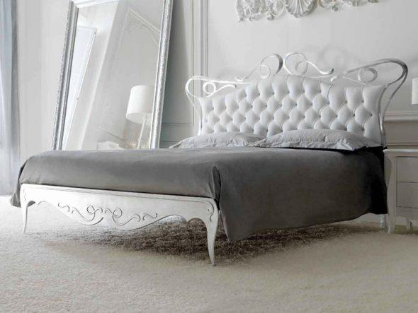 Шикарная кровать для стиля шебби-шик