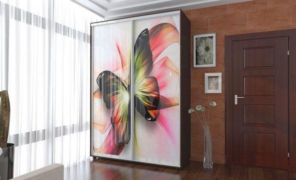 шкаф-купе Бабочка