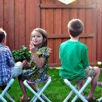 Складные стульчики для дачных посиделок