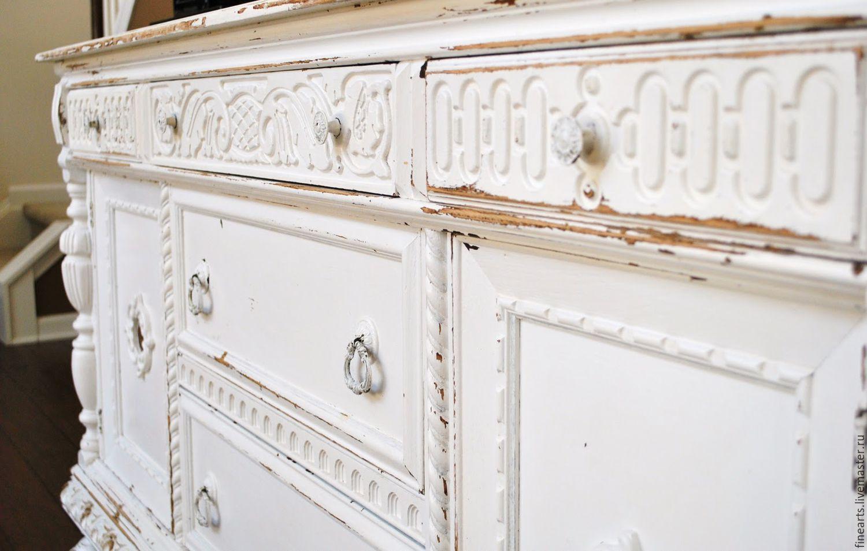 состаривание и декор мебели